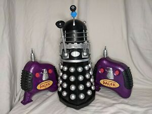 Product Enterprise 12 Inch RC Dalek Black And Silver