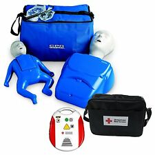 Beginner Instructor Package - CPR Prompt Manikins - Red Cross AED Trainer