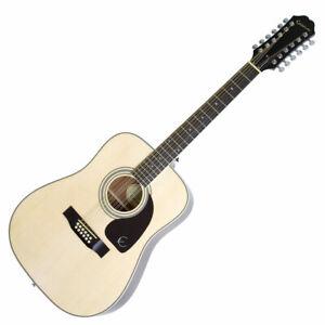 Epiphone DR-212 NA 12-string Akustik Westerngitarre Acoustic Dreadnought Guitar