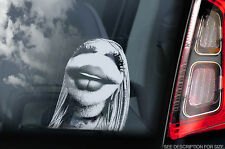 Janice - Car Window Sticker - Muppet Show Fraggle Rock Sesame Street Sign Decal