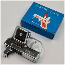 Briquet essence PARTNERS Pistol-Type + box Petrol Lighter-Feuerzeug-neuf/nos