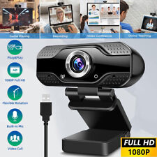 1080P HD Webcam Streaming Video USB 2.0 Web Camera with Microphone For PC Laptop