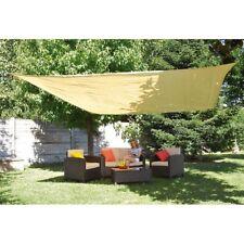 Telo vela ombreggiante parasole copertura giardino quadrato 3 x 3 mt - Rotex