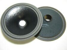 """Pair 10"""" Paper Speaker Cones - Recone Parts - BC-4608"""