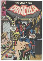 Die Gruft von Graf Dracula Nr 24 von 1975 Williams - TOP ORIGINAL MARVEL-COMIC