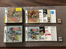 The Legend of Zelda Phantom Hourglass + Spirit Tracks (Nintendo DS LOT) Complete