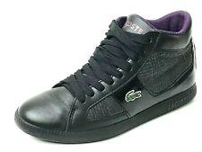 Lacoste Observe 2 Hi Plaid Black Sneaker Size US. 6 UK.4 EU.37