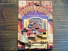 Harry Potter & the Sorcerer's Stone Viewmaster 3D Windows w/ Decoder - Series 1