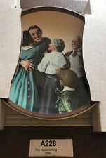 """Norman Rockwell 1990 """"The Homecoming """" Plate #12181A*Knowls*the Ones We Love"""
