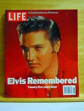ELVIS REMEMBERED-LIFE MAGAZINE-TWENTY FIVE YEARS LATER BRAND NEW! FREE SHIPPING!