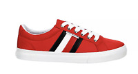 New TOMMY HILFIGER Women's Sneakers Shoes Red White size 6 - 11