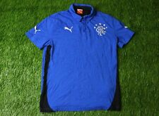 RANGERS SCOTLAND 2014/2015 FOOTBALL POLO SHIRT JERSEY TRAINING PUMA ORIGINAL