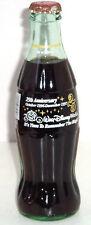 Walt Disney Monde 1st Coca Cola Bouteille 25th 1996 Coke Vintage Remember The