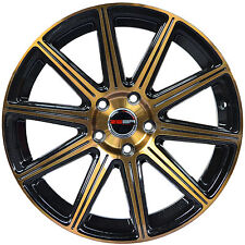 4 GWG WHEELS 18 inch Bronze MOD Rims fits 5x108 ET40 JAGUAR S-TYPE 2000 - 2008