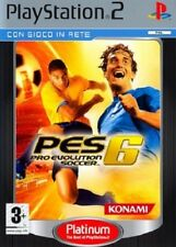 PES - Pro Evolution Soccer 6 PS2 Versione Platinum