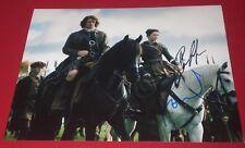 SAM HEUGHAN & CAITRIONA BALFE SIGNED OUTLANDER ON HORSES STILL PHOTO AUTO COA