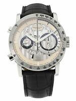 Parmigiani Bugatti Atalante Flyback Chronograph 18k White Gold Men's 43mm Watch