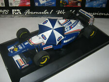 1:18 WILLIAMS RENAULT FW17 D. Coulthard 1995 with umbrella Onyx in SC