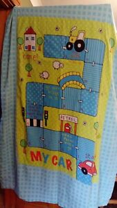 Boys duvet, quilt cover, My Car, game, with pillowcase. Child single. Ladybird