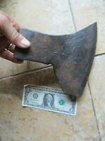 Early Antique Colonial Broad Ax, BLACKSMITH, Native American, Revolutionary War