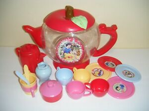 Disney Snow White Tea Party Set Kids Toys (AS-IS)