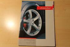 01137) Opel Saab Chevrolet Cadillac Irmscher LM-Räder Prospekt 09/2005