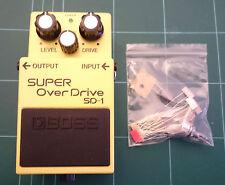 """Boss SD-1 Super Overdrive """"Tube Screamer"""" Mod Kit"""