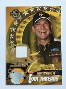 Dale Jarrett 2004 Wheels Cool Threads NASCAR Race Used Shirt Relic Card