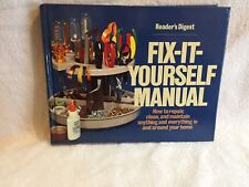 1977 VINTAGE READERS DIGEST FIX IT YOURSELF MANUAL