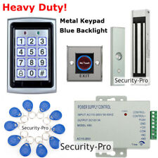 Metal 125KHz RFID+Password Door Access Control System+Door Magnetic Lock+IR Exit