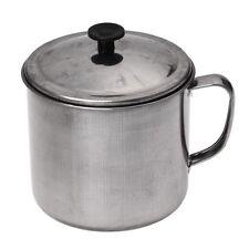 Stainless Steel D Shape Handle Cup Water Mug 500ml Capacity T1