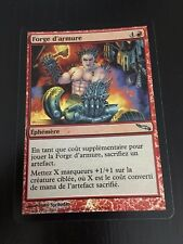MTG MAGIC MIRRODIN FORGE ARMOR (FRENCH FORGE D'ARMURE) NM FOIL