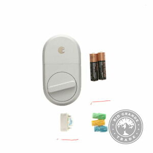 USED August Home Smart Lock - Keyless Home Entry with Your Smartphone in Silver