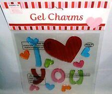Valentine's Day Window Gels   I LOVE YOU