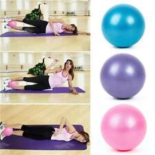 Balance MiNi Exercise Ball Small Gym Ball with Inflatable Straw for Yoga SS3