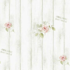 Rustic Plank Wood Panel Contact Paper Pattern Whitewash Peel Stick Wallpaper