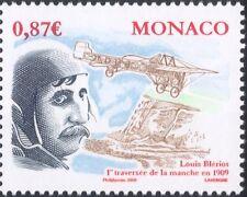 Monaco 2009 Louis Bleriot/People/Aircraft/Aviator/Aviation/Planes 1v (mc1102)