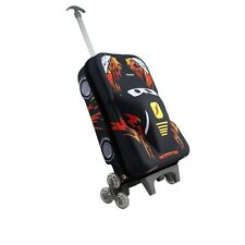 Children's '3D Car' Rollercase, Suitcase, Carry On Luggage | FREE Express P&P