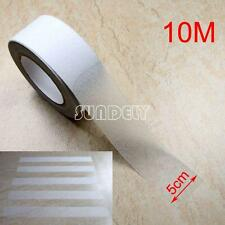 "33FT 2"" Anti Slip Non Skid Tape Grip Self Adhesive Clear Stripe Safety Flooring"