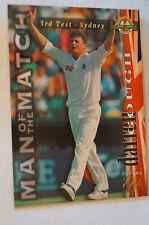 Cricket Collectable - Futera Elite Card - Man of The Match Series - Darren Gough