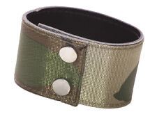 Unique & edgy -combat green /under layer leather & adjustable hand band(ZX275)