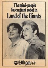 1969 TV AD~LAND OF THE GIANTS~MINI PEOPLE FACE A GIANT ROBOT~Gary Conway