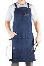 Denim Chef Apron & Work Apron for Men by Hudson Durable Goods [Buy Mfr Direct]