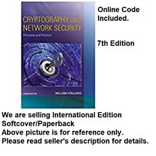 (Online Code Included)Cryptography and Network Security: Principles and Practice
