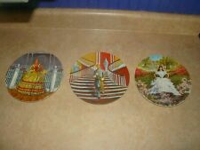 Vintage Gone With The Wind Collector Plates Lot Knowles China 1978 1980
