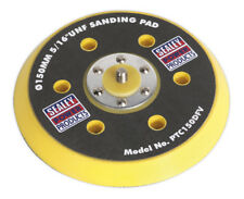 "DA DUST-FREE BACKING PAD FOR HOOK & LOOP DISCS DIA.145MM 5/16""UNF SEALEY PTC150D"