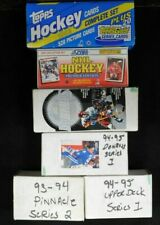 Upper Deck, Topps Card Sets Lot Of 6 Complete Hockey Sets Hand Coordinated