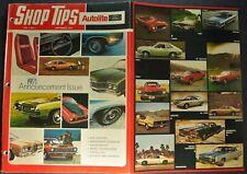 1971 Ford Shop Tips Intro Brochure Mustang Torino Lincoln Mark III Bronco Pickup
