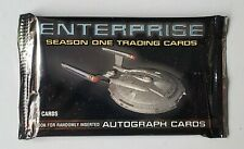 Star Trek Enterprise Season 1 - Sealed Trading Card packs from sealed Hobby Box