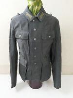 WW2 Feldbluse M43 Uniform Jacke Italian Gabardine Jacket WSS